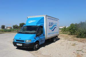Camión de Lavandería Posadas